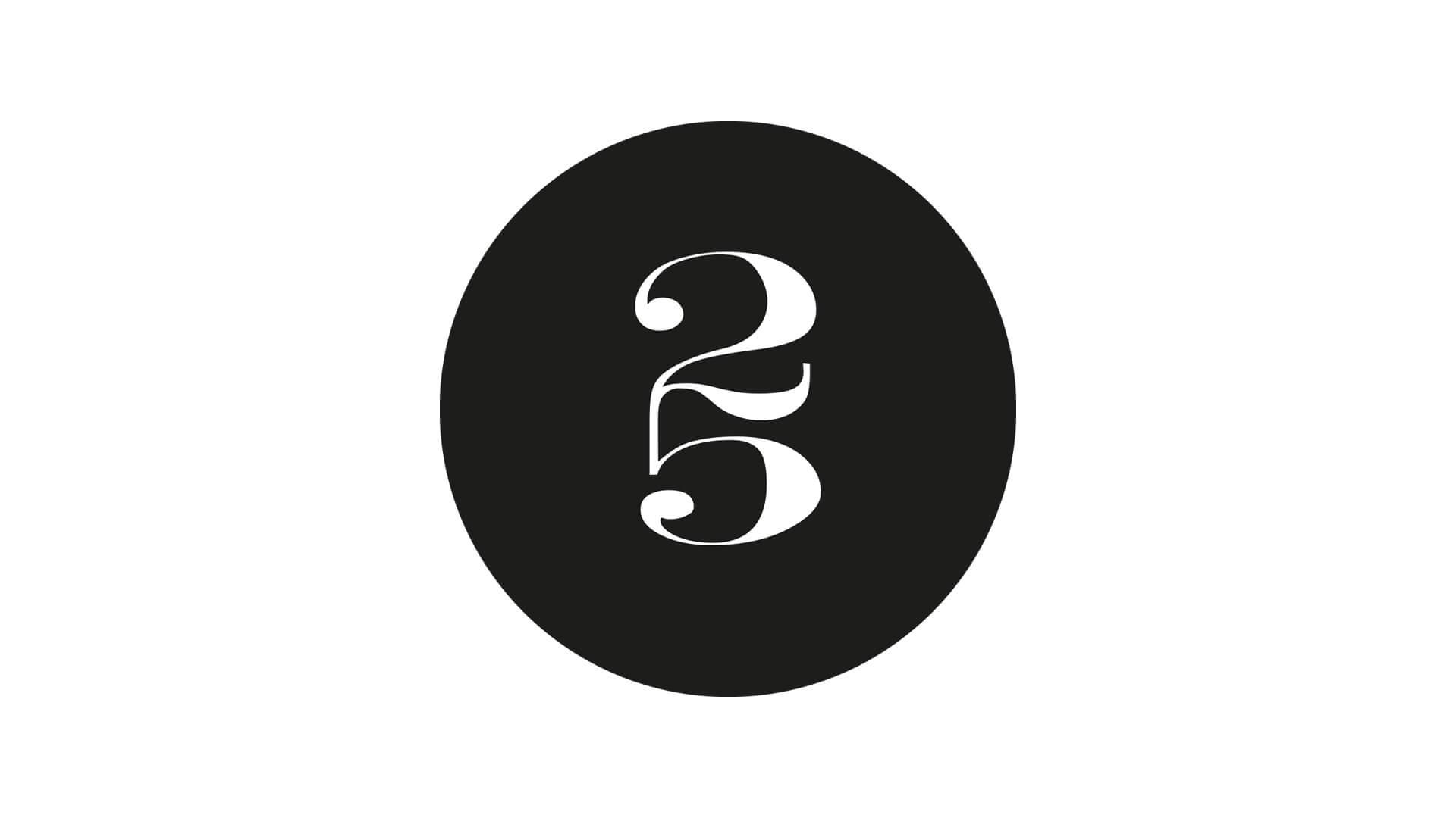 Logotyp - PM & Vänner 25 år