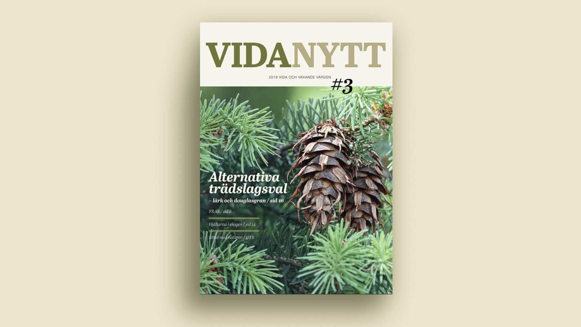 Medlemstidning – Vida Skog