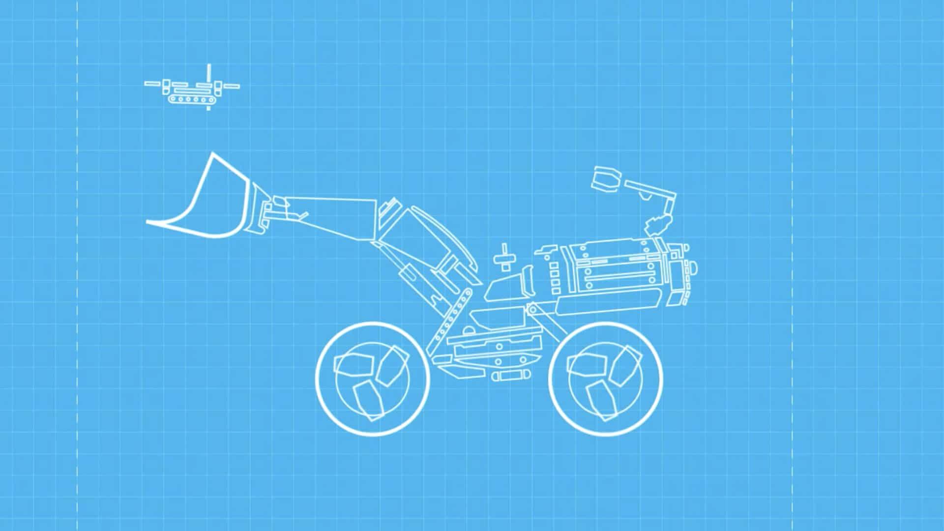 Volvo Construction Equipment - blueprint