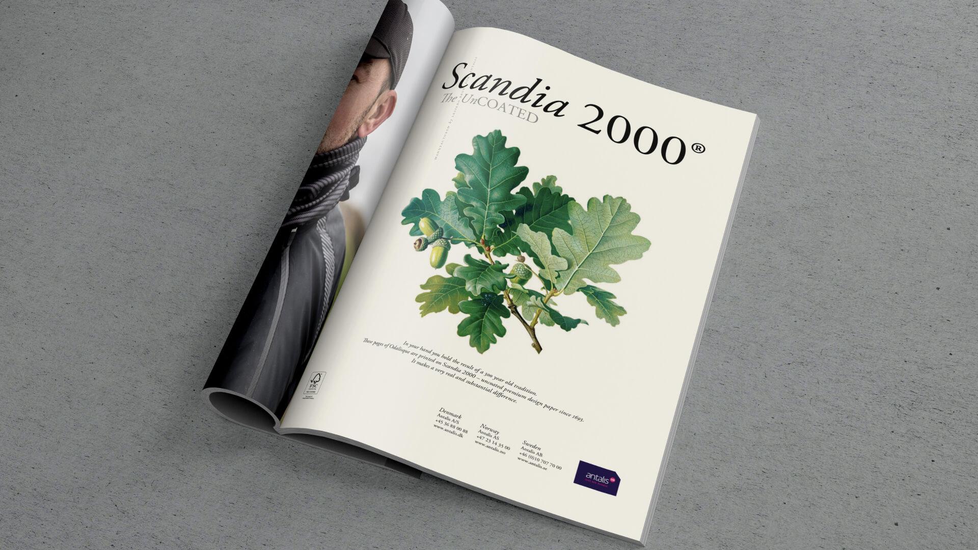 Scandia 2000 - Annons