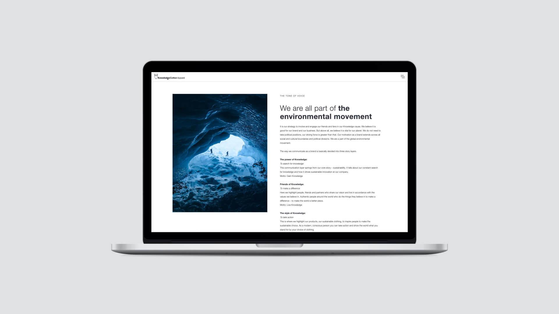 We are Knowledge – digital Brand Book
