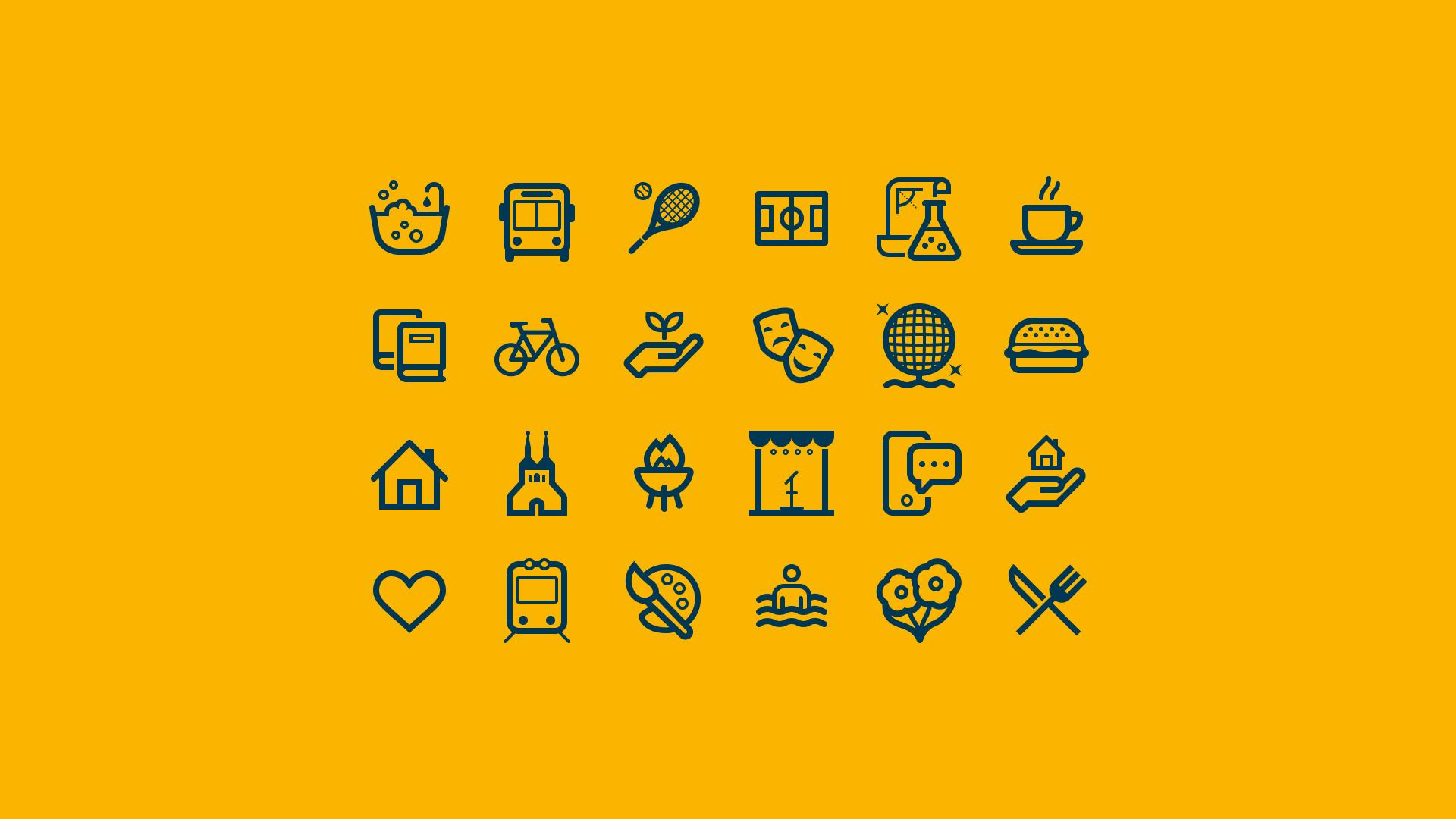 Växjö Kommun - pictogram